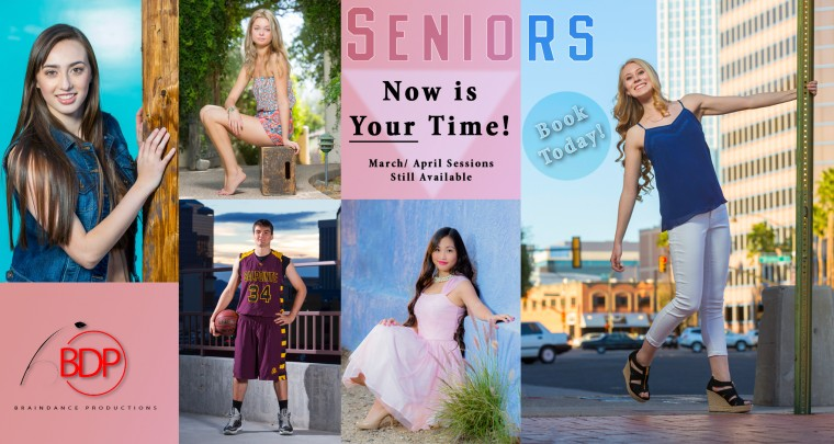 It's Not Too Late for Senior Portraits